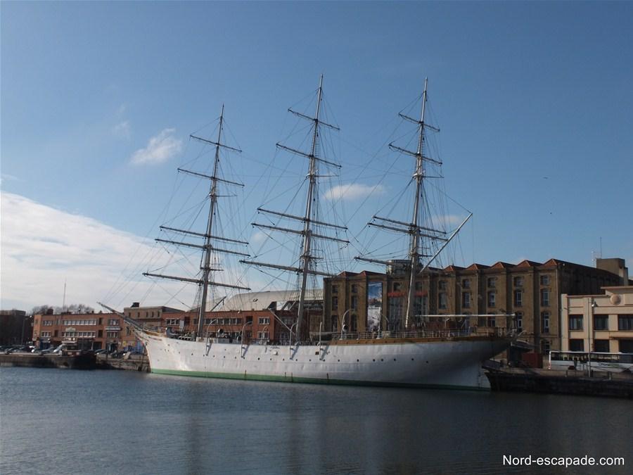 Le musée portuaire de Dunkerque et le voilier trois mois Duchesse Anne