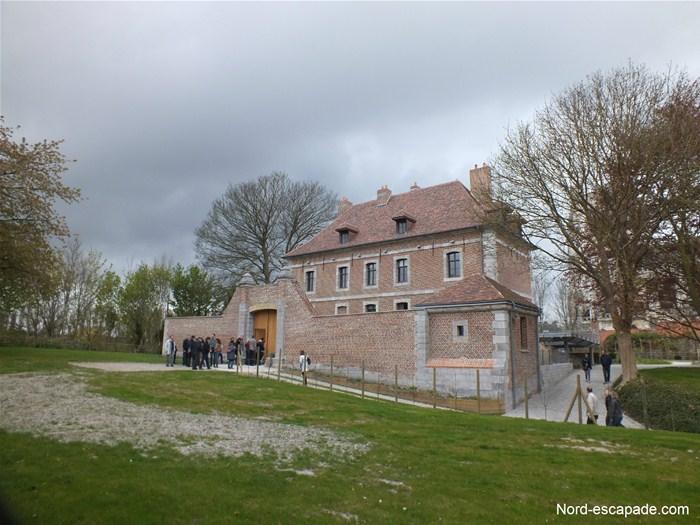 La Motte Castrale, le château