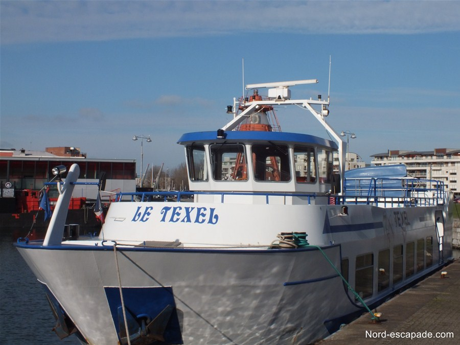 Le Texel - Visite du port de Dunkerque