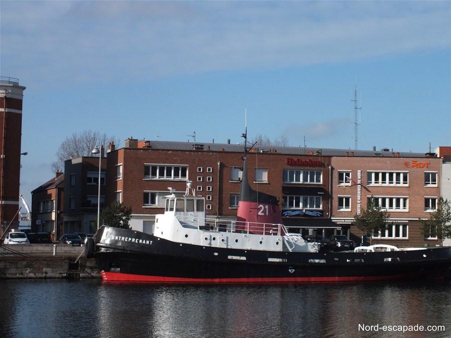 L'entreprenant - Remorqueur du musée portuaire de Dunkerque