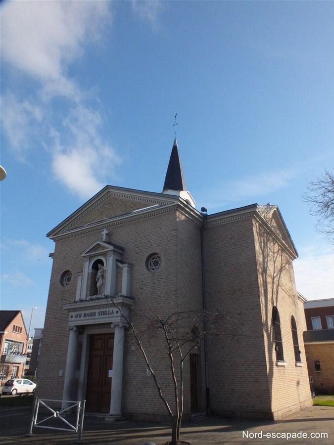 La chapelle des Dunes de Dunkerque