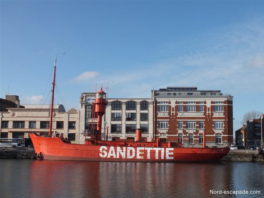 Le Sandettié (Bâteau - Feu), à découvrir au musée portuaire de Dunkerque