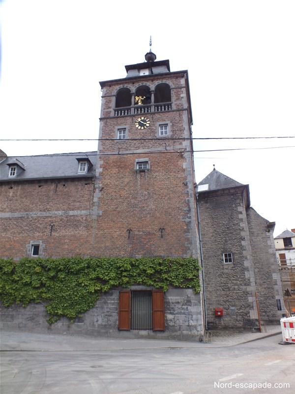 L'abbaye de Leffe à Dinant