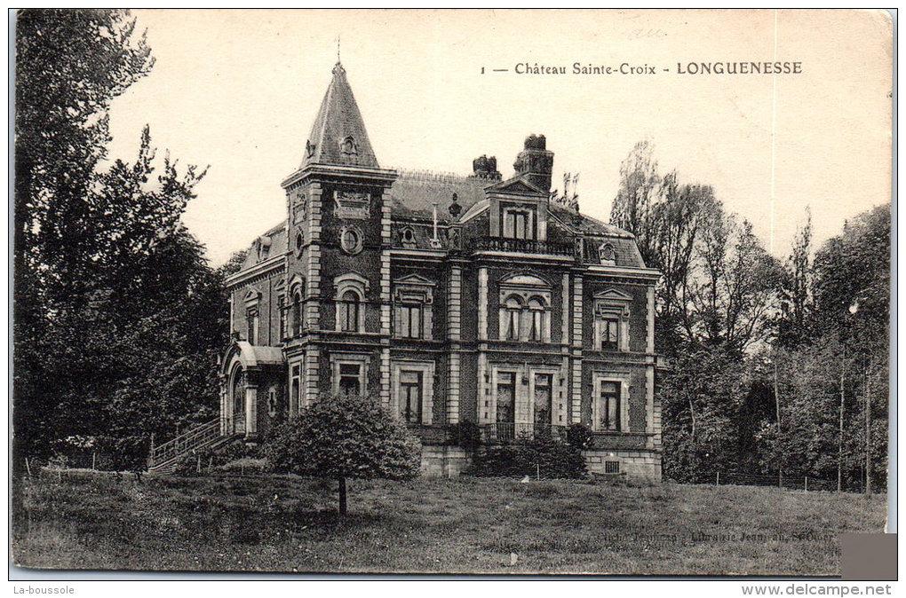 Hôtel de ville de Longuenesse, anciennement château Sainte-Croix