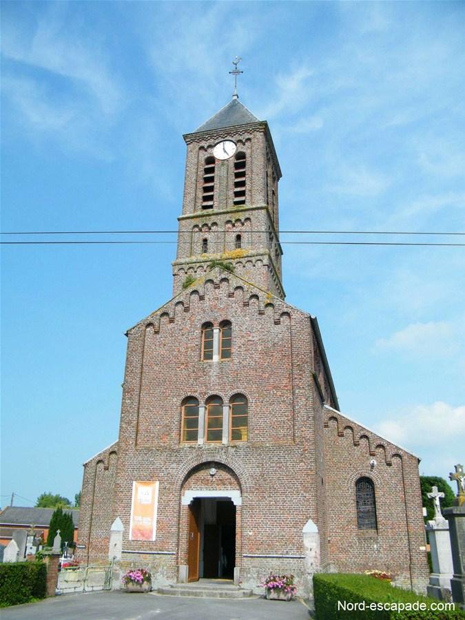 L'église de Bissezeele