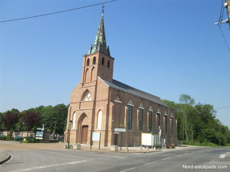 L'église de Clairmarais