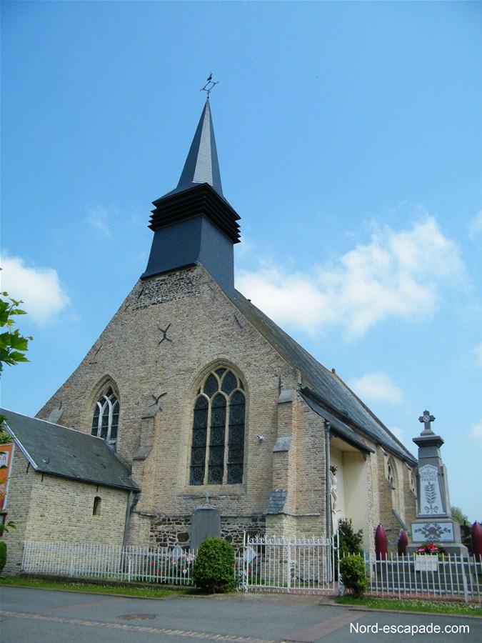 L'église de Crochte