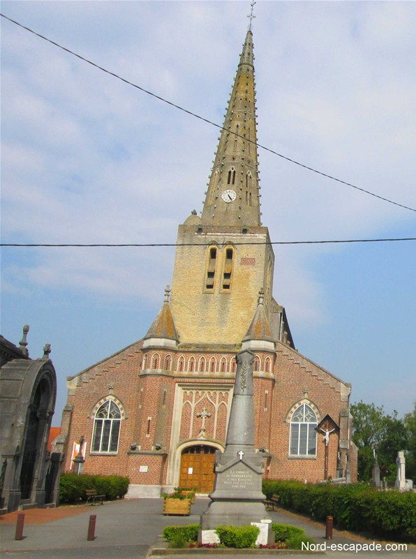 L'église de Noordpeene