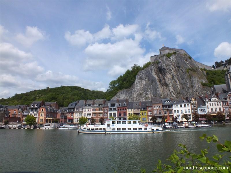 Les rives de la Meuse à Dinant - Tourisme wallonie
