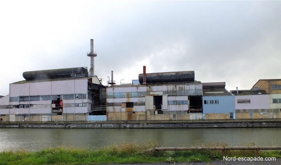 Ancienne usine de la cristallerie d'Arques, aujourd'hui démantelée