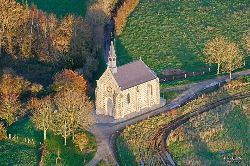 La chapelle des marins à Saint-Valery (Picardie)
