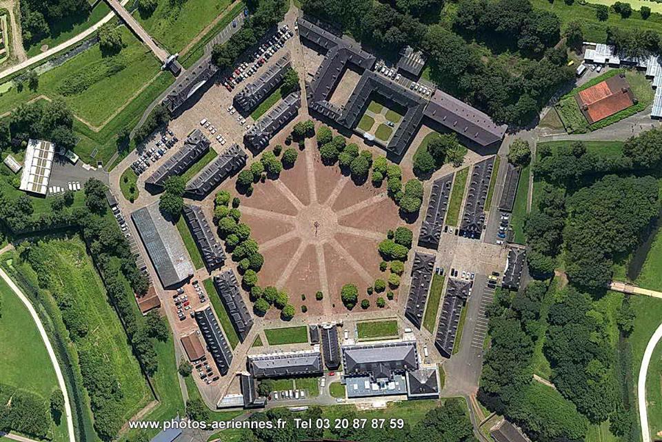 La citadelle de Lille, construite par Vauban