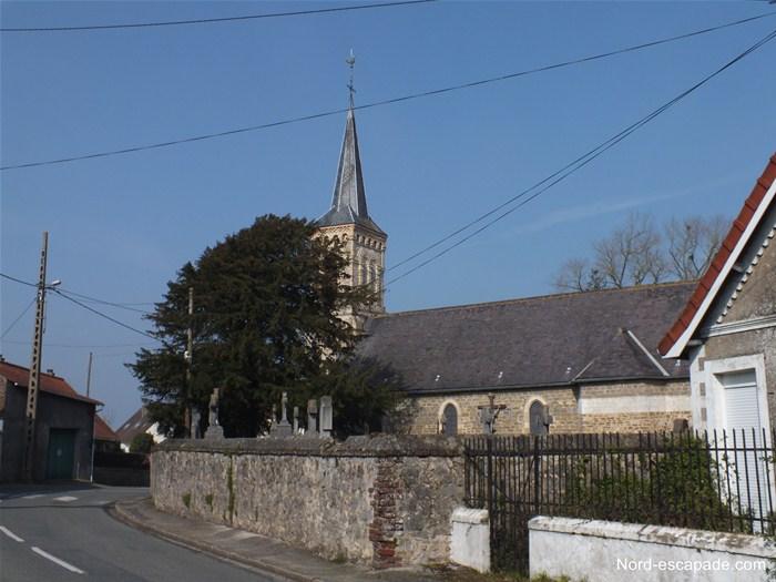 Eglise d'Hesdigneul-les-Boulogne - Nord-Escapade_GF
