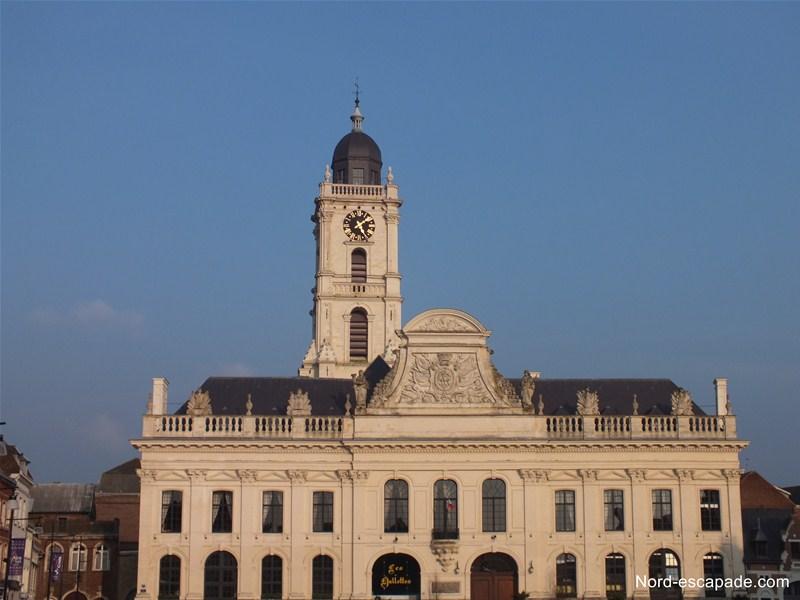 Hôtel de ville Aire et beffroi