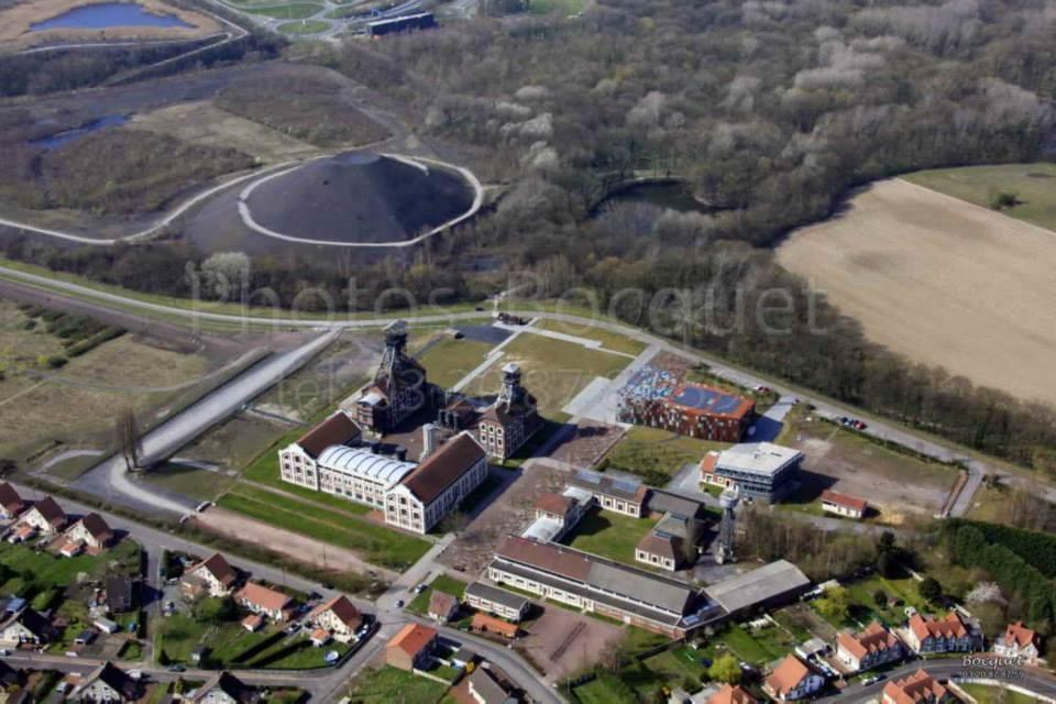 Site de la mémoire minière, le 9-9 bis d'Oignies