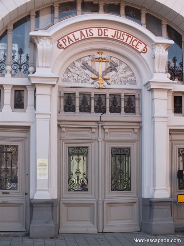 Le Palais de justice de Roubaix