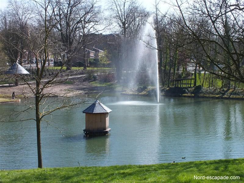 Les étangs du parc bARBIEUX