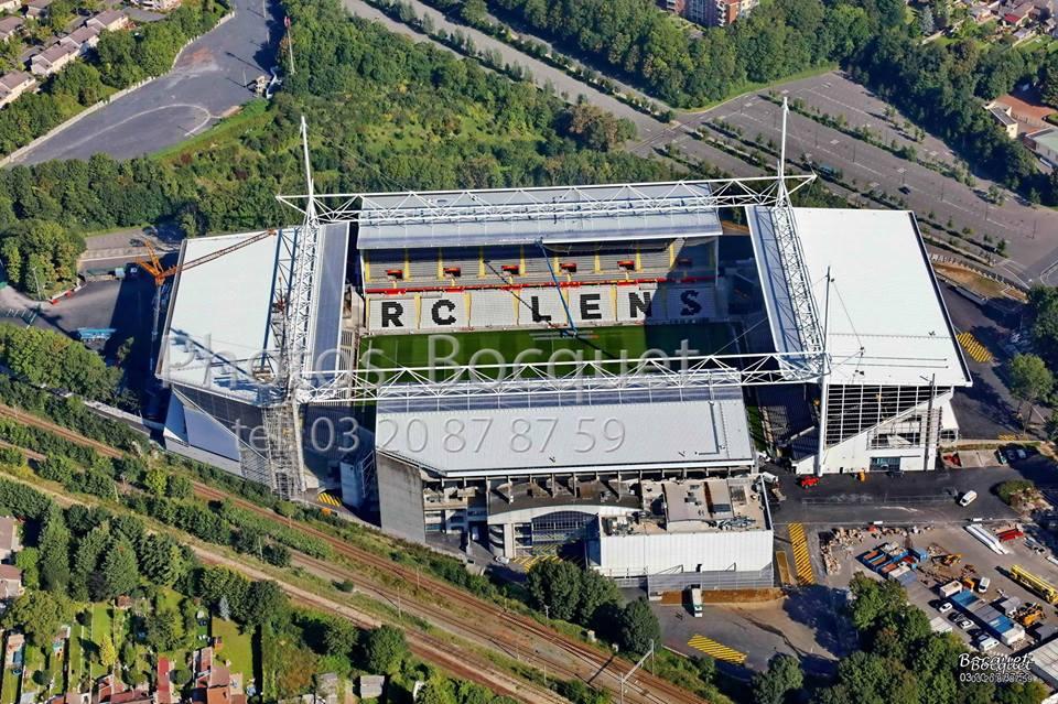 Le stade du RC Lens
