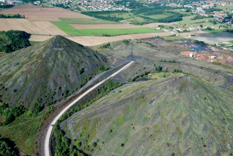 Terrils jumeaux de Loos en Gohelle - Photos aériennes Bocquet - Nord Escapade