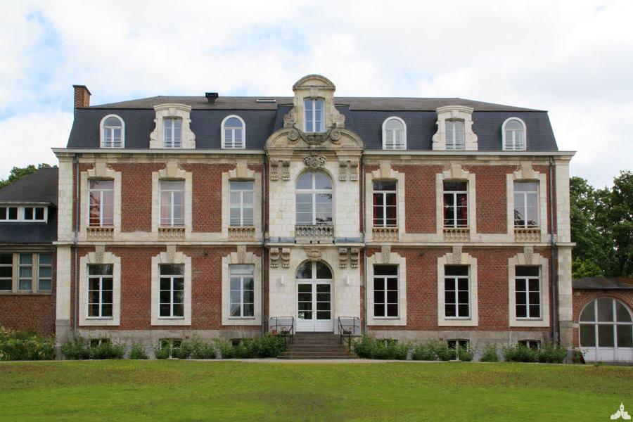 Le château Dejau à Bouvines