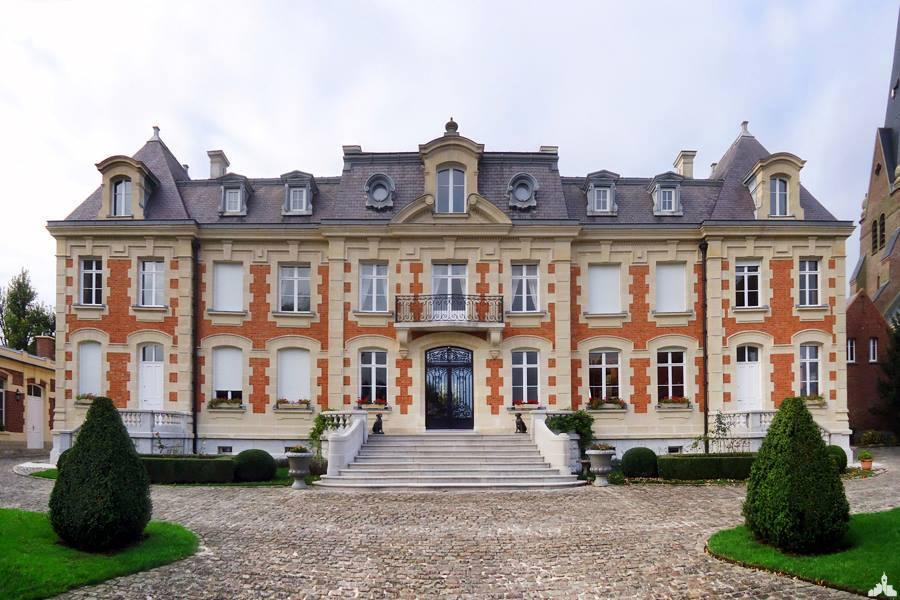 Le château Florent à Monchy