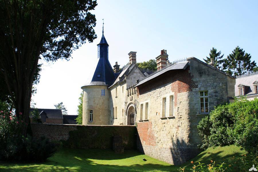 Le château de Ligny-en-Cambrésis
