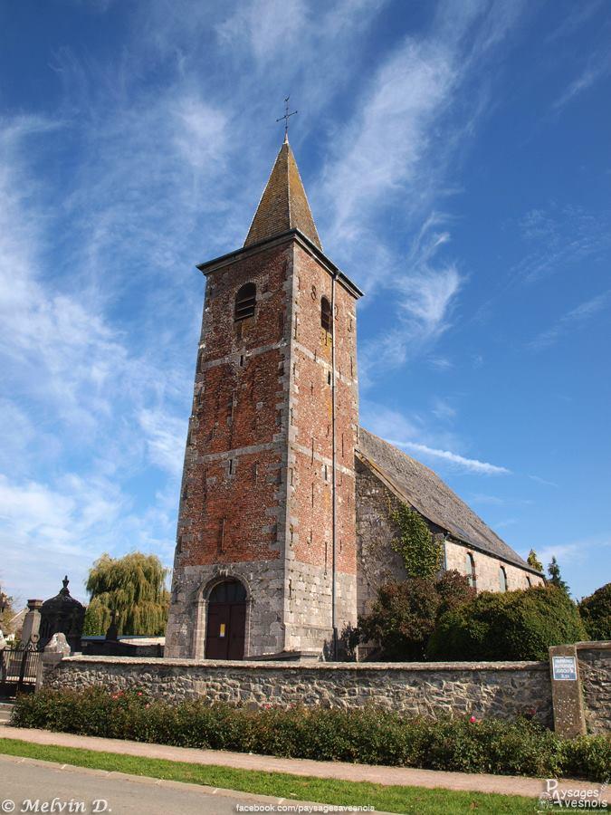 L'église d'Aibes, dans l'Avesnois