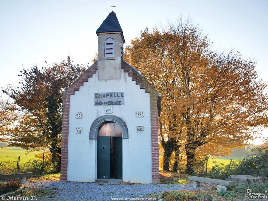 Chapelle Notre-Dame-de-Grâce - Landrecies - Paysages Avesnois - Nord Escapade