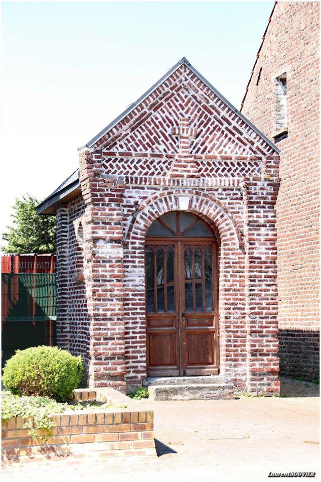 La vieille chapelle St Joseph de Mazingarbe