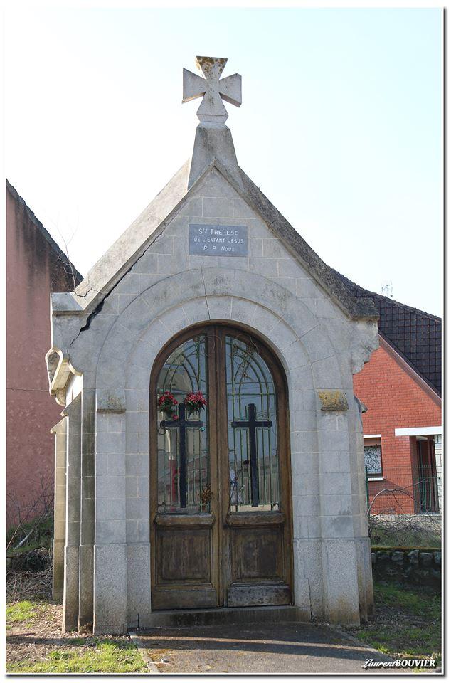 La chapelle Sainte-Thérèse de l'enfant Jésus à Méricourt