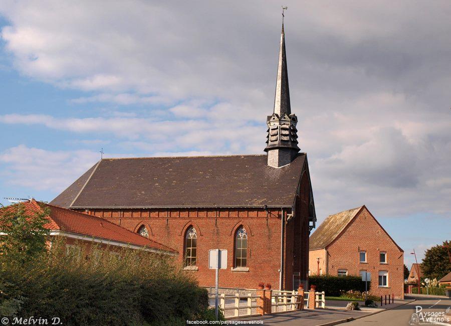La chapelle de Malplaquet de Taisnières-sur-Hon