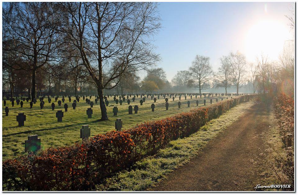 Le cimetière de Carvin - Mémoire de 14-18