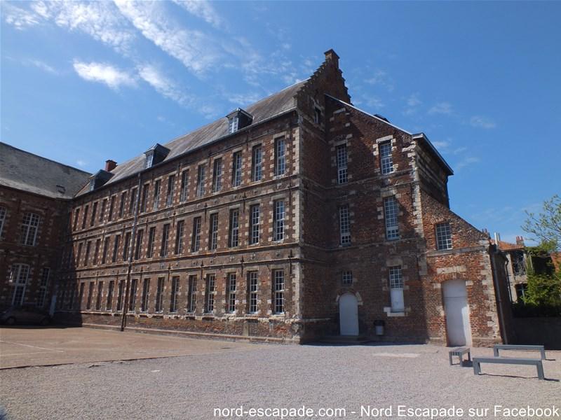 Le collège Sainte Marie d'Aire-sur-la-Lys