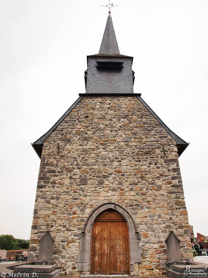 L'église Saint-Géry à Damousies, l'une de plus anciennes de l'Avesnois