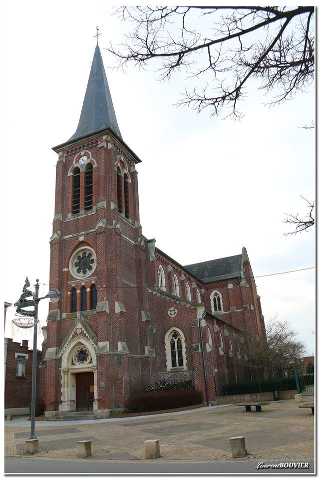 L'église de Libercourt