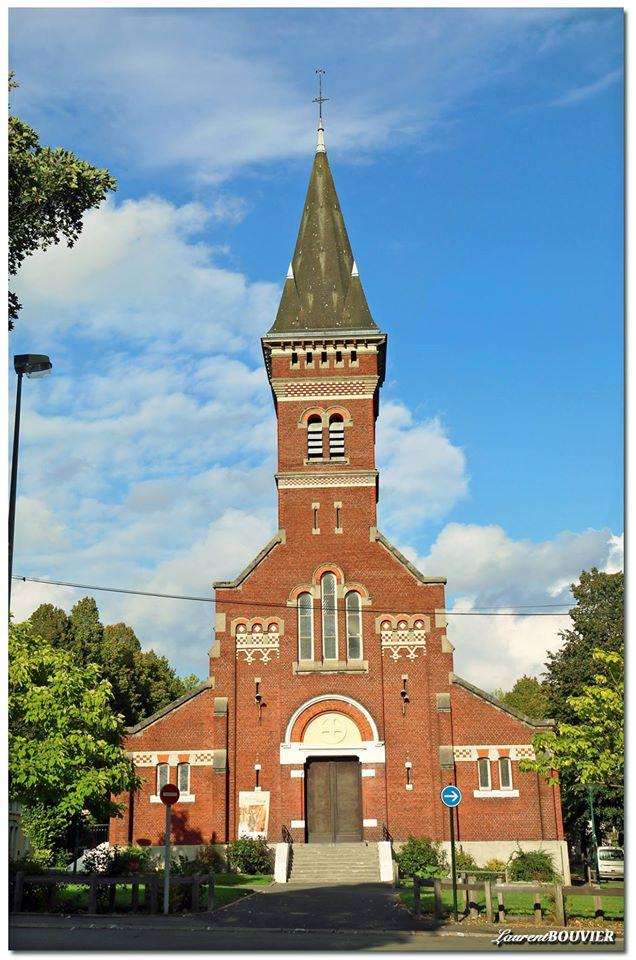 L'église Saint-Edouard de la cité 12 à Lens