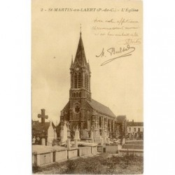 Eglise Saint-Martin au laert