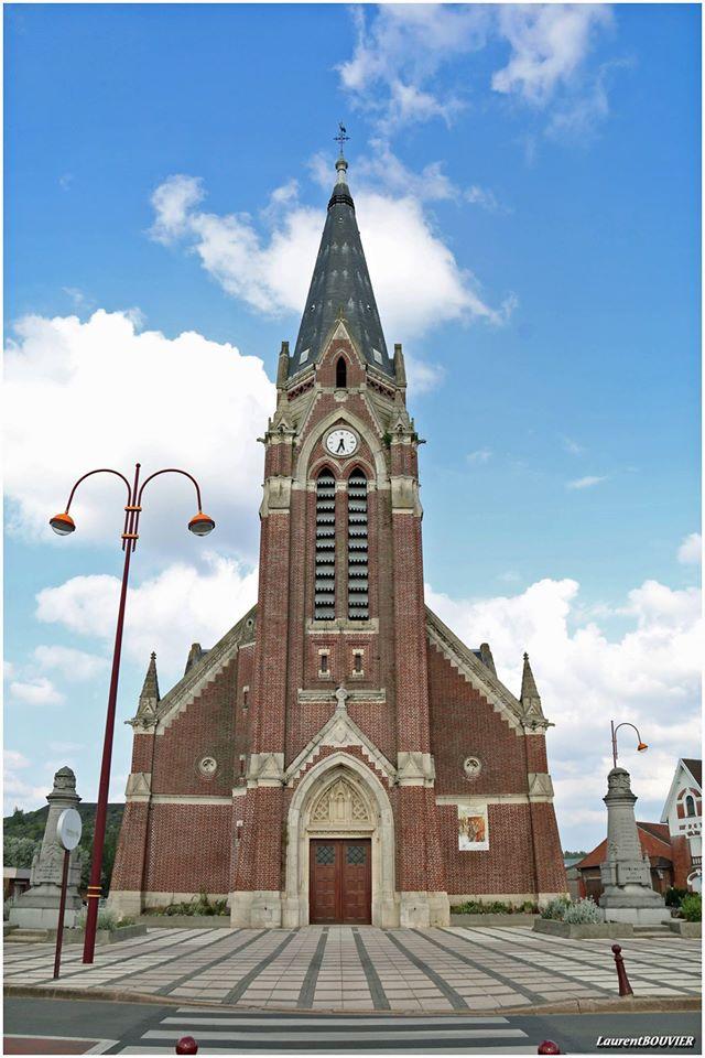 L'église Saint-Amand à Noyelle-sous-Lens