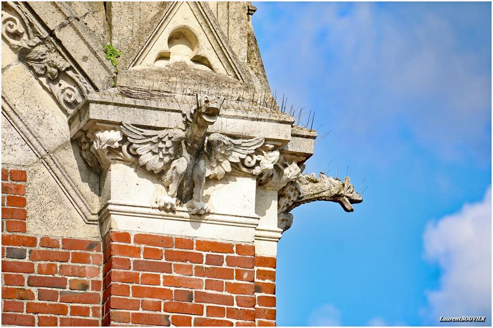 Les gargouilles de l'église de Noyelle-sous-Lens