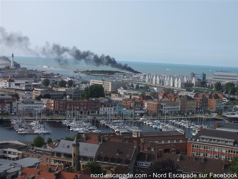 Scènes de guerre à Dunkerque