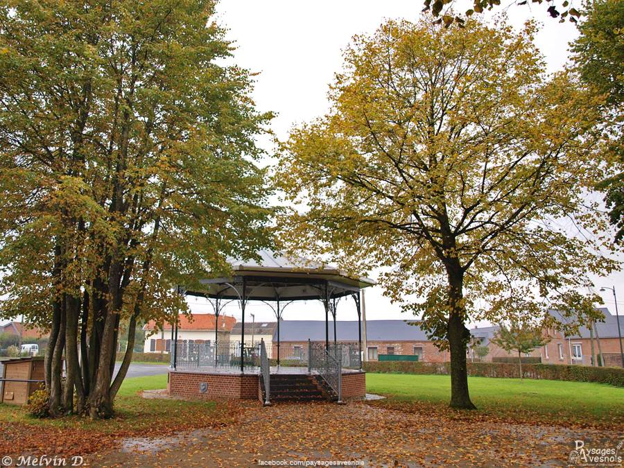 Kiosque de Fontaine-au-bois - Paysages Avesnois - Nord Escapade
