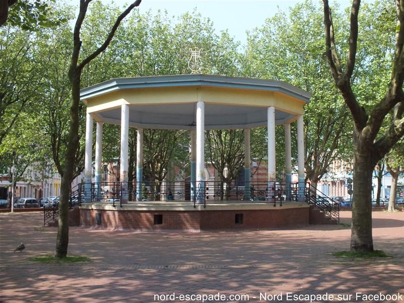 Kiosque à Musique à Malo-les-Bains