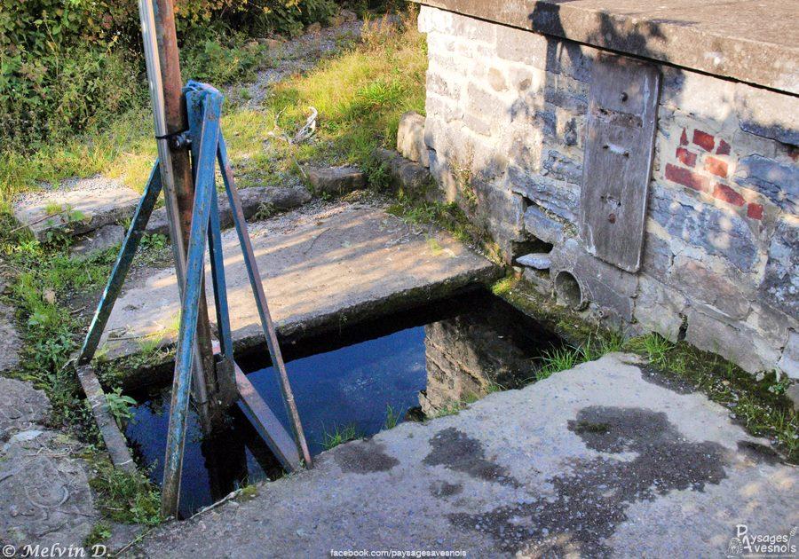 La fontaine ste Aldegonde à la Longueville