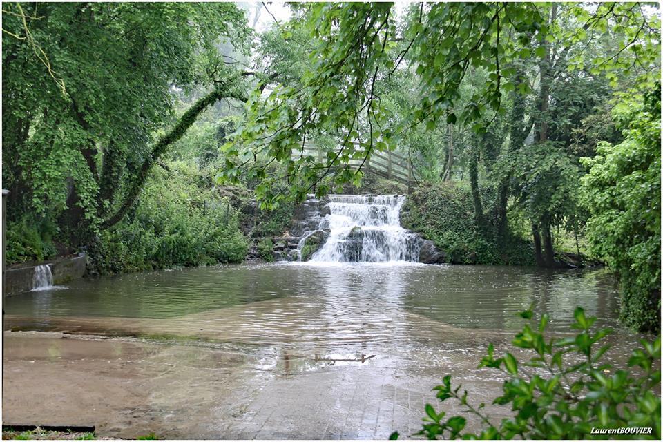 La cascade du bois de Carieul