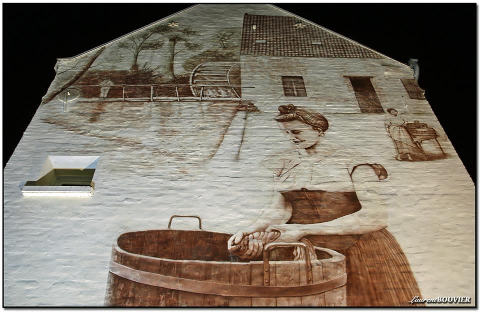 Fresque murale à Souchez
