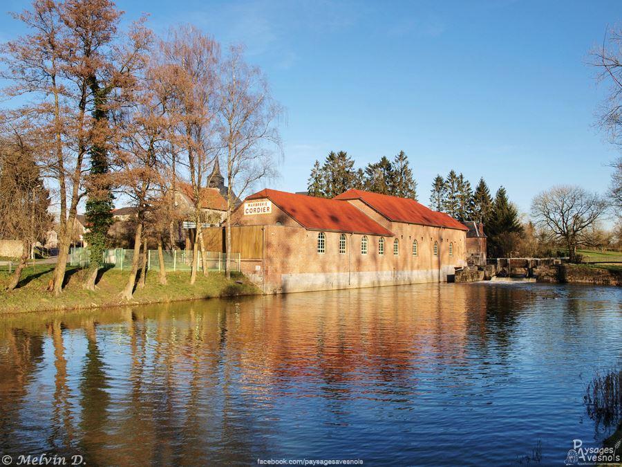 Moulin de l'ancienne marbrerie Cordier