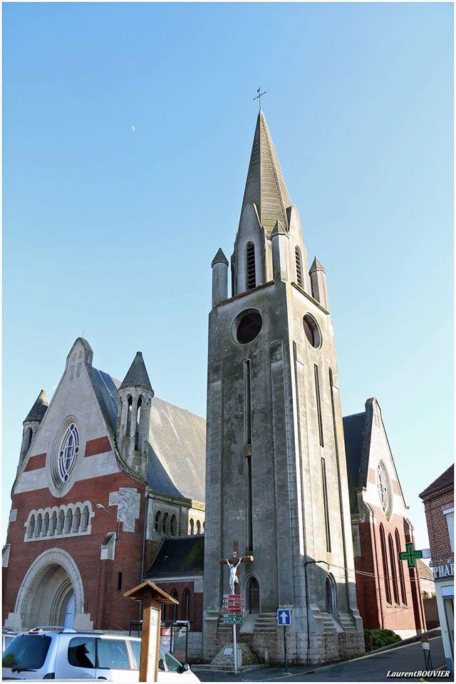 L'église d'Ablain-Saint-Nazaire