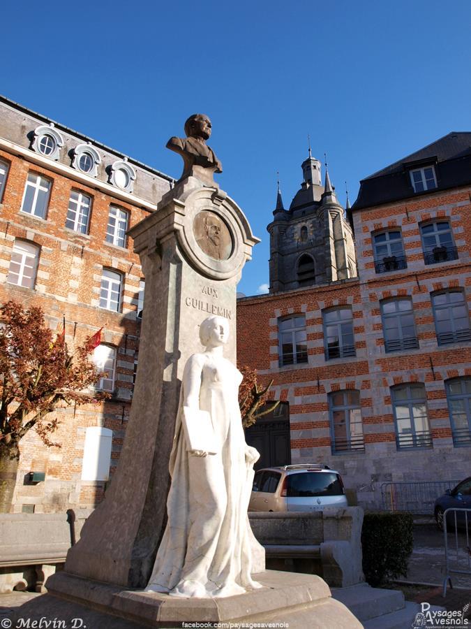 Le monument aux guillemin d'Avesnes