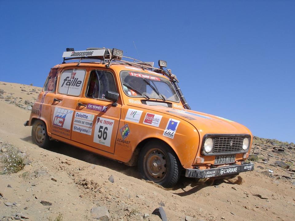 Chtis dans le désert