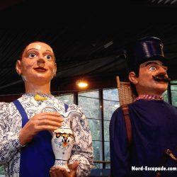Benoît et Catherine, géants desvrois